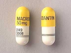 Macrodantin 50 mg capsule