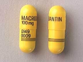 Macrodantin 100 mg capsule