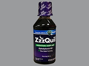 can i take zzzquil with xanax