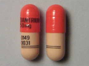 dantrolene 50 mg capsule