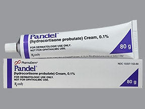 Pandel 0.1 % topical cream