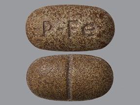 Ferretts 325 mg (106 mg iron) tablet