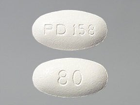 Lipitor 80 mg tablet