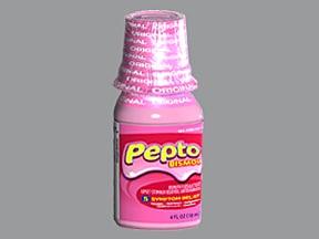 Pepto-Bismol 262 mg/15 mL oral suspension