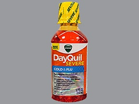 Vicks DayQuil Severe Cold-Flu 5 mg-10 mg-325 mg-200 mg/15 mL liquid