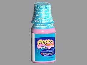 Pepto-Bismol Max St 525 mg/15 mL oral suspension