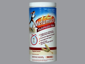 Metamucil (With Sugar) Oral : Uses, Side Effects