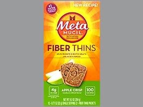 Metamucil Fiber Thin 2 gram oral wafer