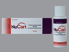 Nucort 2 % lotion