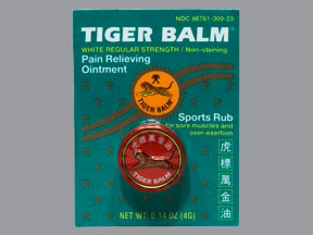 Tiger Balm topical ointment