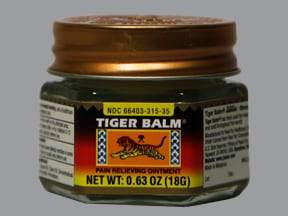 Tiger Balm 11 %-11 % topical ointment