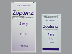 Zuplenz 4 mg oral soluble film