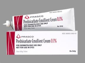 prednicarbate 0.1 % topical cream