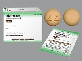 Intermezzo 3.5 mg sublingual tablet