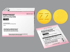 Intermezzo 1.75 mg sublingual tablet