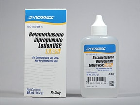 betamethasone dipropionate 0.05 % lotion