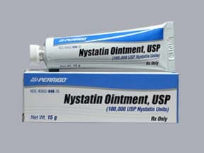 nystatin 100,000 unit/gram topical ointment