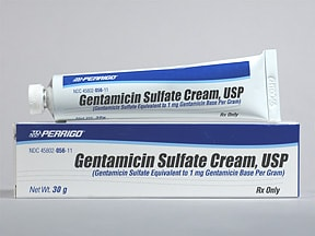 gentamicin 0.1 % topical cream