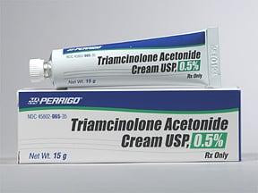 triamcinolone acetonide 0.5 % topical cream