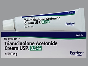triamcinolone acetonide 0.5 % topical cream