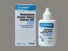 mometasone 0.1 % topical solution