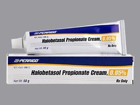 halobetasol propionate 0.05 % topical cream