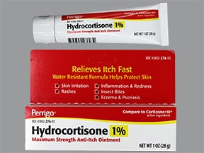 hydrocortisone 1 % topical ointment