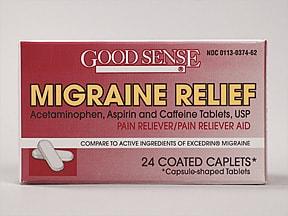 Migraine Formula 250 mg-250 mg-65 mg tablet