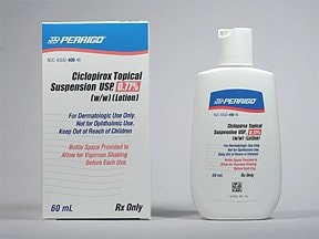 ciclopirox 0.77 % topical suspension