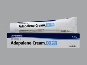 adapalene 0.1 % topical cream