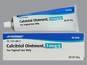 calcitriol 3 mcg/gram topical ointment