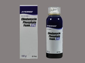 clindamycin 1 % topical foam
