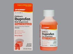 Children's Ibuprofen 100 mg/5 mL oral suspension