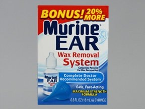 Murine Ear Wax Removal System 6.5 % drops