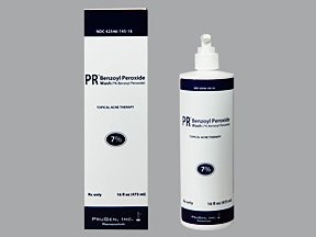 benzoyl peroxide 7 % topical cleanser
