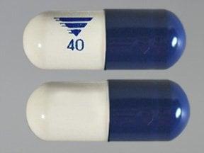 omeprazole 40 mg-sodium bicarbonate 1.1 gram capsule