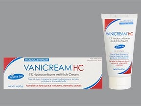 Vanicream HC 1 % topical