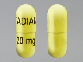 Kadian 20 mg capsule,extended release