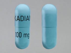 Kadian 100 mg capsule,extended release