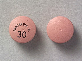 Procardia XL 30 mg tablet,extended release