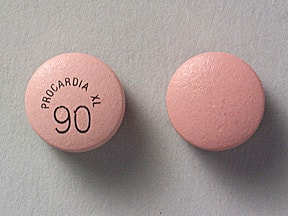 Procardia XL 90 mg tablet,extended release