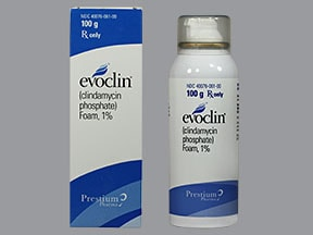 Evoclin 1 % topical foam