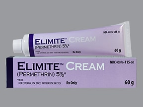Elimite 5 % topical cream