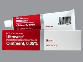 Ultravate 0.05 % topical ointment