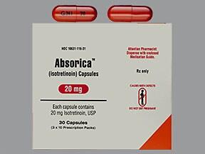 Absorica 20 mg capsule
