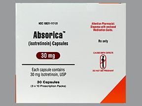 Absorica 30 mg capsule