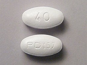 Lipitor 40 mg tablet