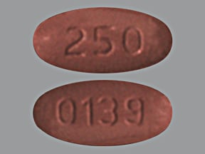 levofloxacin 250 mg tablet