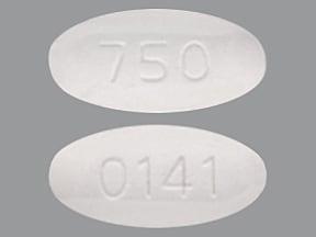 levofloxacin 750 mg tablet