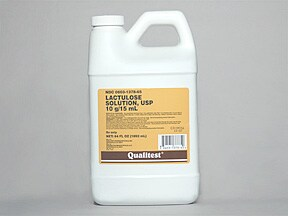 lactulose 10 gram/15 mL oral solution